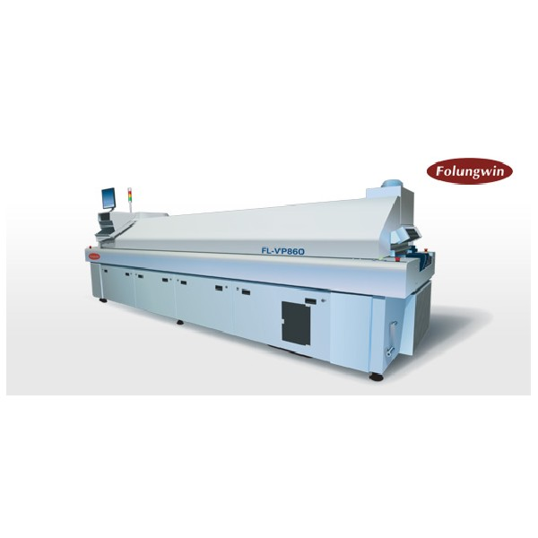 Reflow Oven - 8 Zone Medium/High Volume - Folungwin FL-VP860