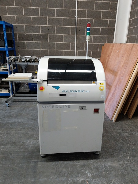 USED SMT Screen Printer - MPM-Sigmaprint 400