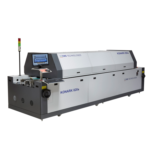 EMS 8 Zone Reflow Oven the 820S