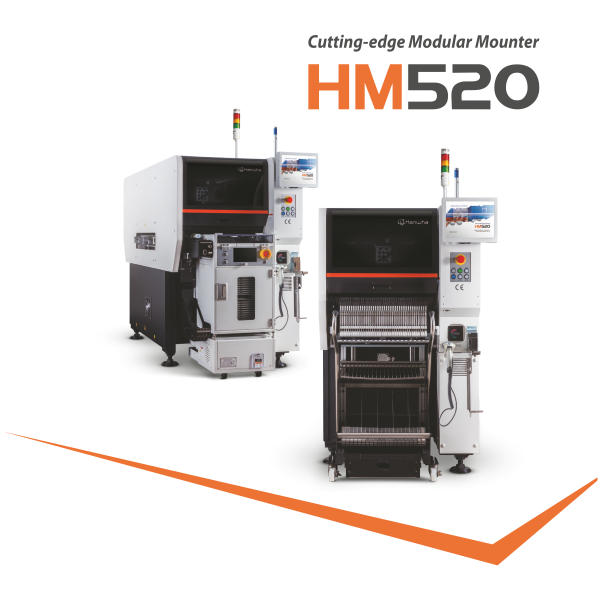 High Speed Hanwha HM520 HS Module - Modular Pick and Place Machine
