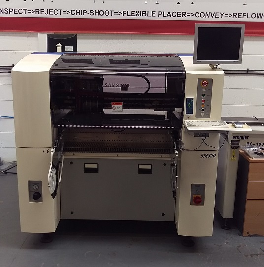 Used Pick and Place Machine - Samsung SM320 Reconditioned