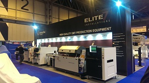 Elite 7 Installations at National Electronics Week exhibition 2016