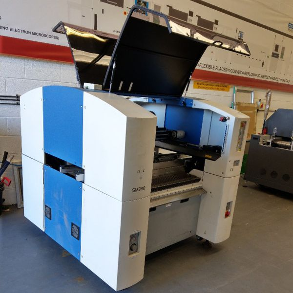 Used Samsung SM320 SMT pick and place machine