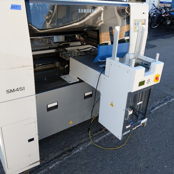 Used Hanwha SM451 Odd Form Pick and Place Machine