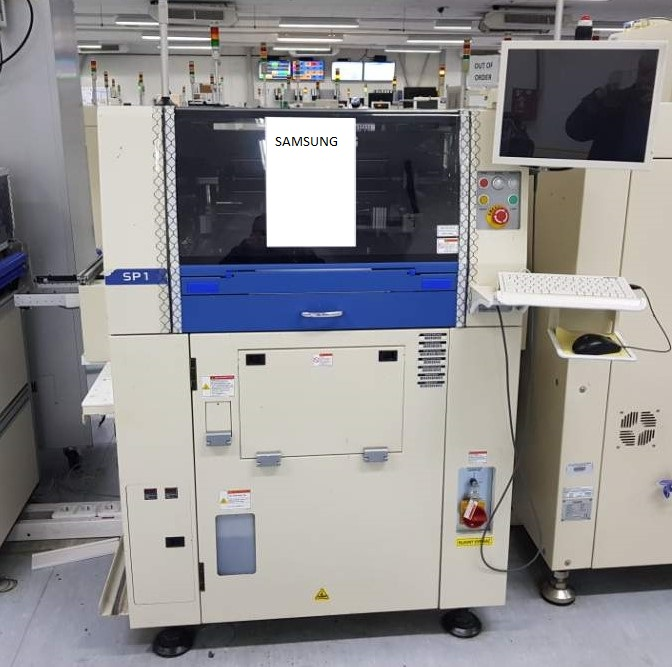 Used SMT Screen Printer - Used SAMSUNG SP-1 Screen Printer