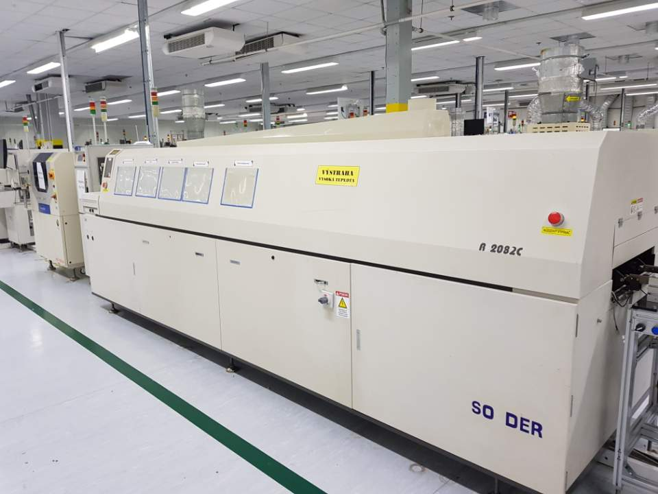 Used TSM Reflow oven in very good condition perfect working order