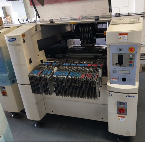 Used Samsung CP45fv SMT pick and place machine