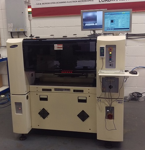 Used Pick and Place Machine - Samsung CP45FV NEO Reconditioned Available from Stock