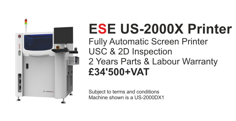 ESE FULLY AUTOMATIC SCREEN PRINTER