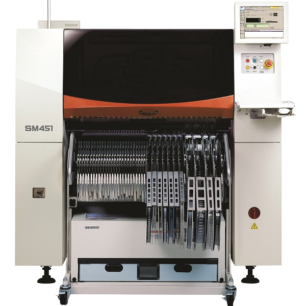 Off form pick and place machine from Hanwha the SM451