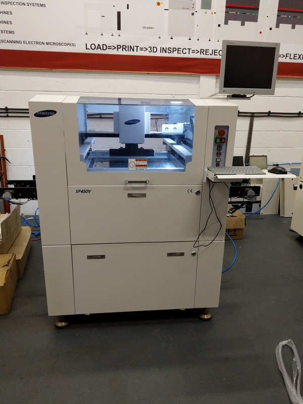 Used SMT Screen Printer - Used SAMSUNG SP450V Screen Printer